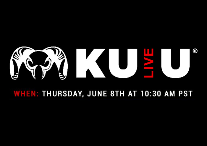Register Today for the Next KUIULive Event on June 8th!