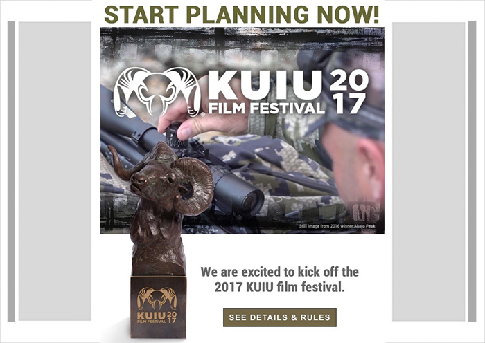 Last Call for KUIU Film Festival Submissions