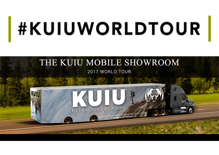 KUIU Mobile Showroom 2017 World Tour Update