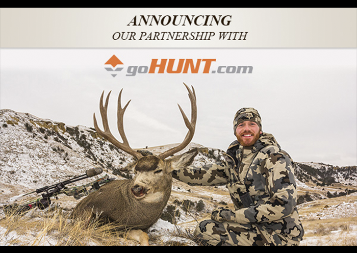 Announcing our partnership with goHUNT.com