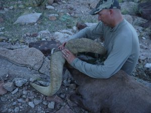 AZ Big Game Supper Raffle Desert Bighorn Sheep Hunt Frank Argo Ram with Jay Scott and Craig Steele of Colburn and Scott Outfitters and Exclusive Pursuits Outfitters 9