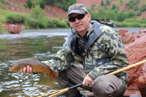 Brown trout from Colorado with Jay Scott Outdoors